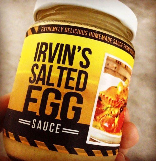 salted egg sauce
