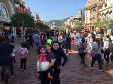Hongkong Disneyland, December 2015.